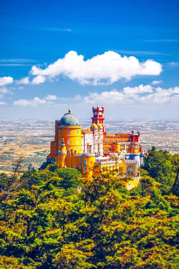 포르투갈의 숨은 보석, 산 속 도시 '신트라'