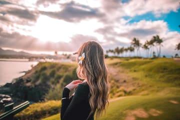 하와이의 시들지 않는 꽃, 레이