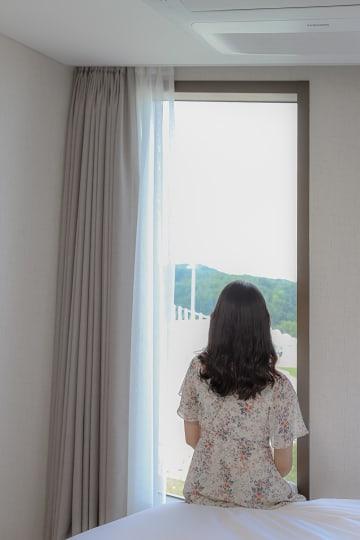 양양에서 태어난 지 한 달, 소레스트 콤피 호텔