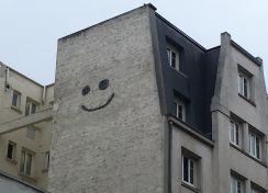 Sourire dans la ville