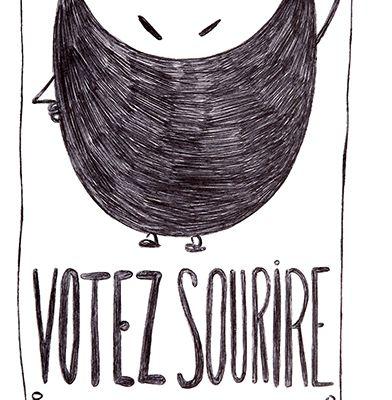 Carte Votez Sourire