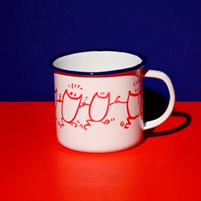 Mug Farandole de Sourires rouges