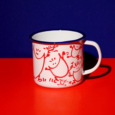 Mug Sourires rouges