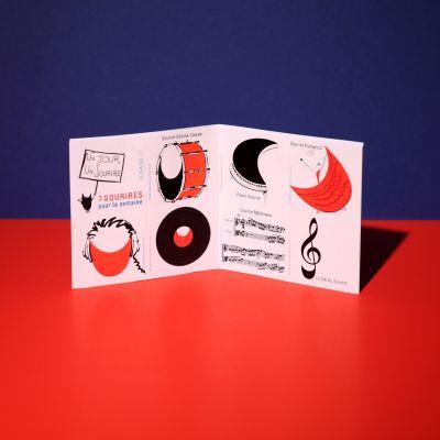 """Stickers """"Sourire en musique"""""""