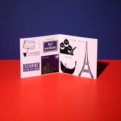 "Stickers ""Sourire en voyage"""