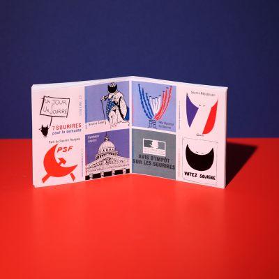 """Stickers """"Sourire français"""""""