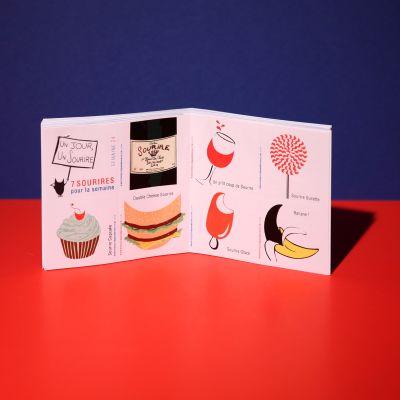 "Stickers ""Sourire gourmand"""