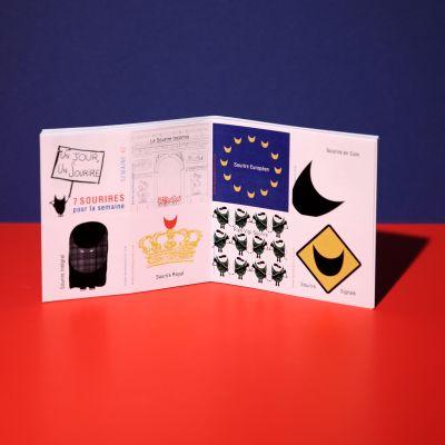 """Stickers """"Sourire politique"""""""