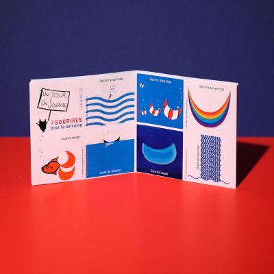 "Stickers ""Sourire à la mer"""