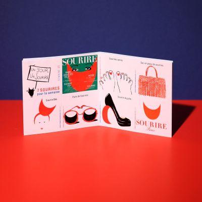 """Stickers """"Sourire à la mode"""""""