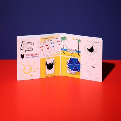 "Stickers ""Sourire au soleil"""