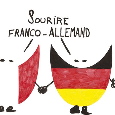 Carte Sourire franco allemand