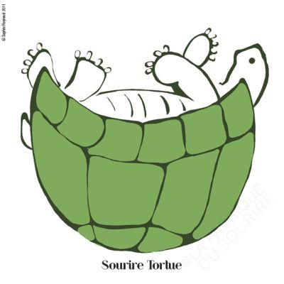 Tortue sourire