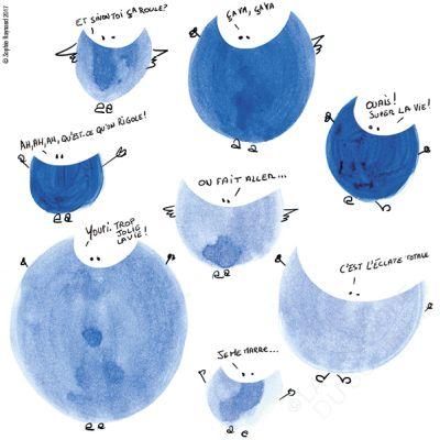 Sourires bleus