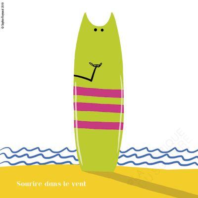 Sourire surfeur