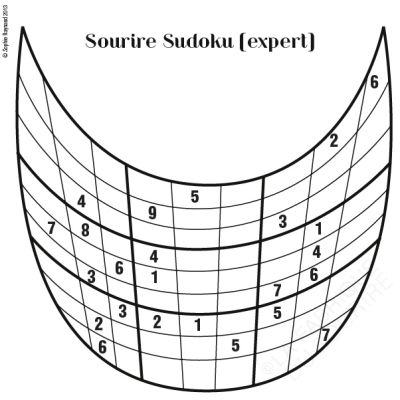 Sourire sudoku