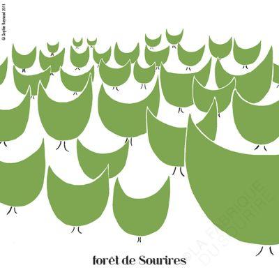 Forêt de sourires