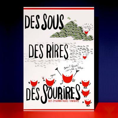 Affiche «Des Sous des Rires»