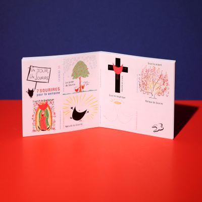 Stickers «Sourire religieux»