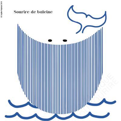 Sourire de baleine
