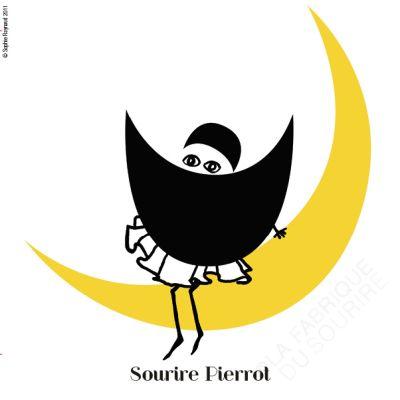 Sourire Pierrot