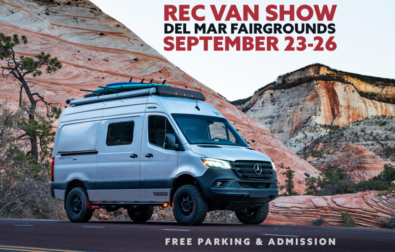 Rec Van Show at Del Mar Fairgrounds