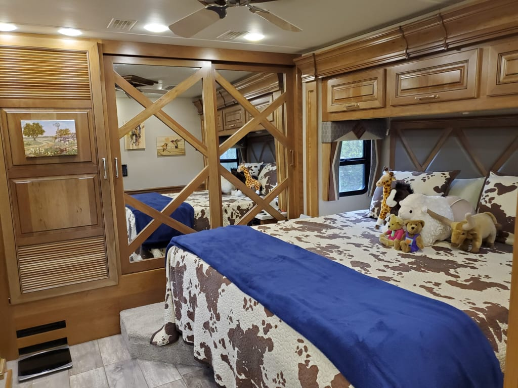 Making Your RV bedroom Feel Like Home
