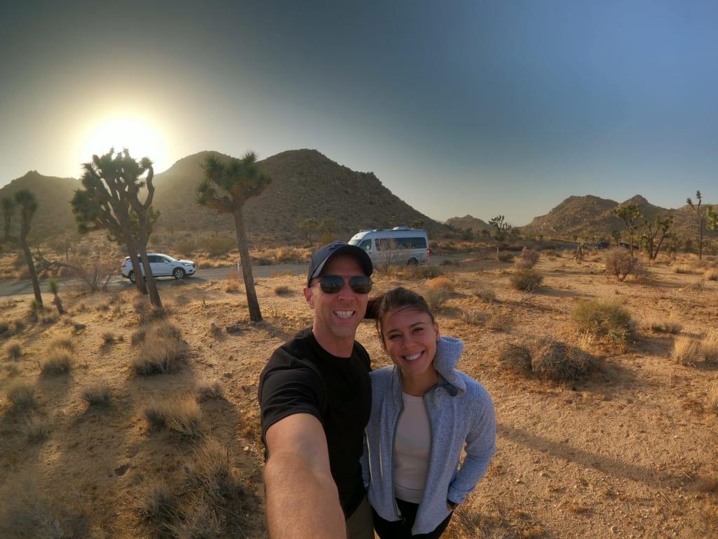 RV Lifestyle in the desert