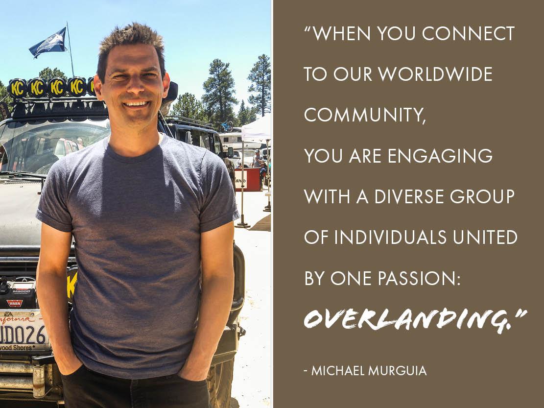 Michael Murguia Overlanding Quote