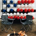 campground, fourth of July RVers