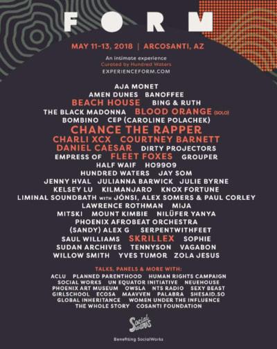 FORM Arcosanti Festival flyer