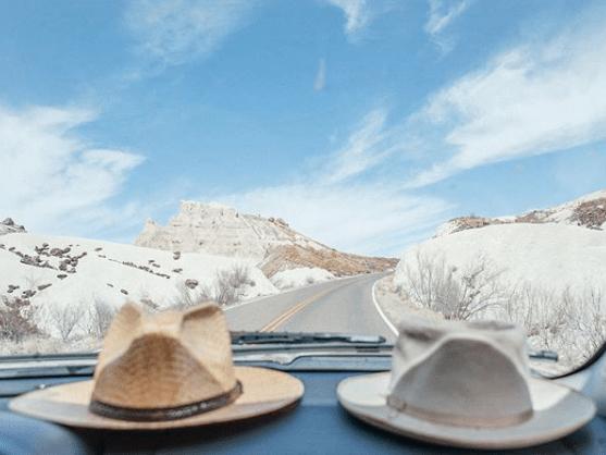 Hats on dash