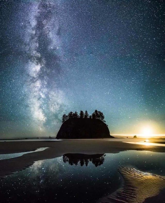 Olympic National Park Washington beautiful scenery
