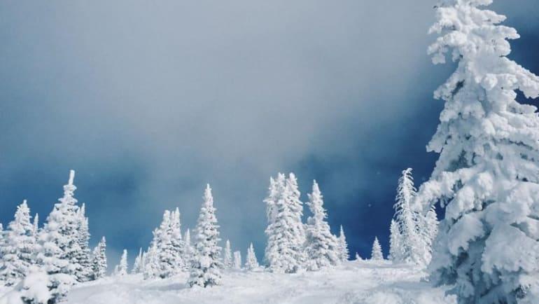 Snow like cake batter