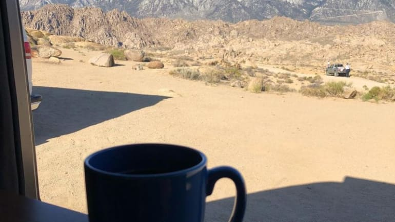 southern California mountains, free camping southern California
