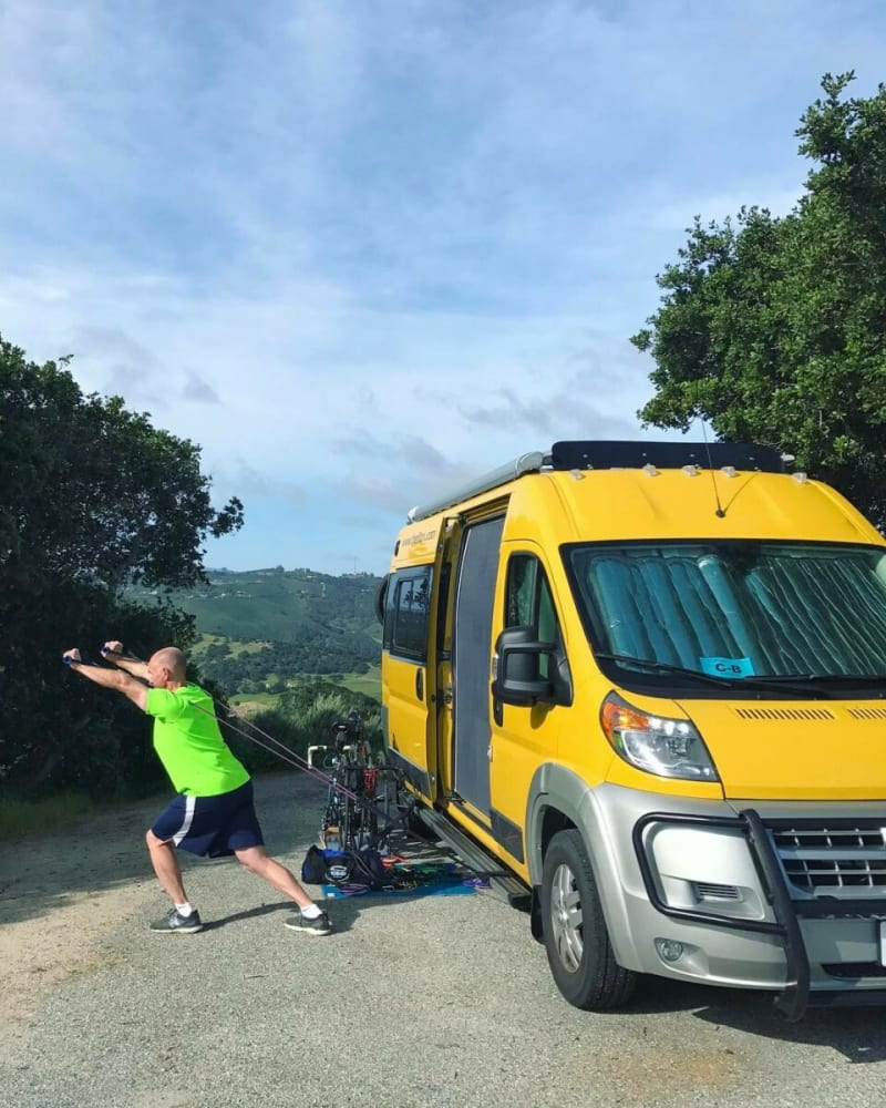 Workingout on the road - Everything you need to know to stay fit while RVing