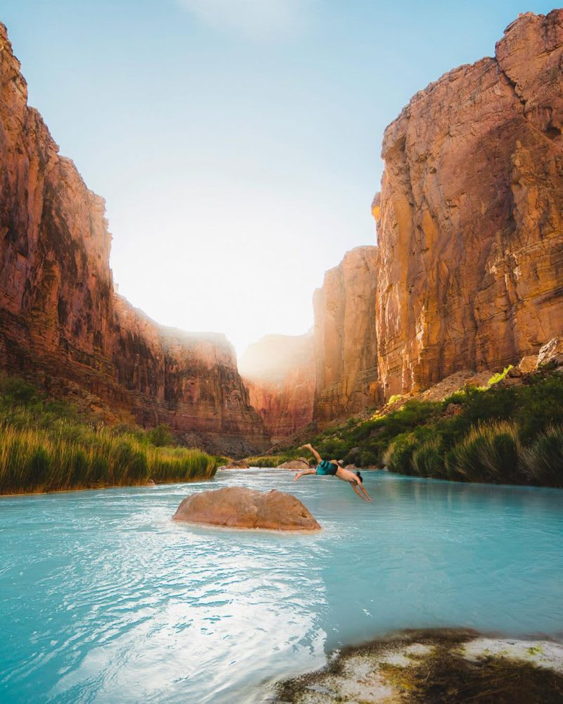 swim your way across America this summer
