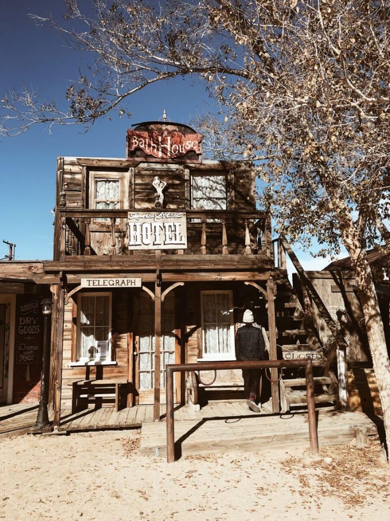 RV Road Trip Travel Spots in California: Pioneer Town