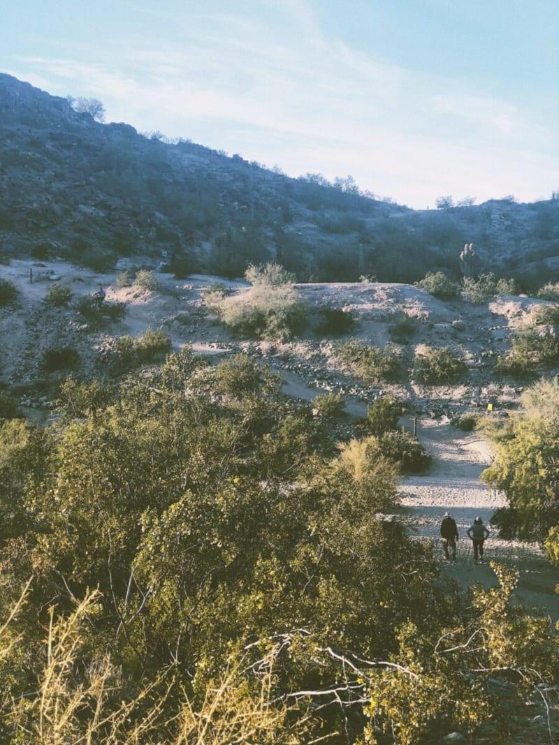 Hike at Pima County Trailhead