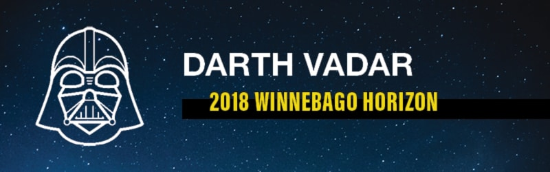 Darth Vadar's Favorite RV: Winnebago Horizon