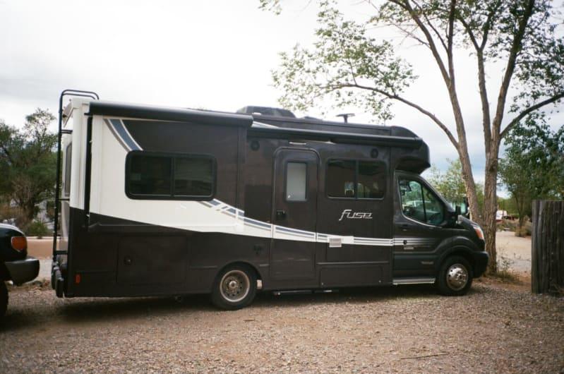 RV camping Taos New Mexico