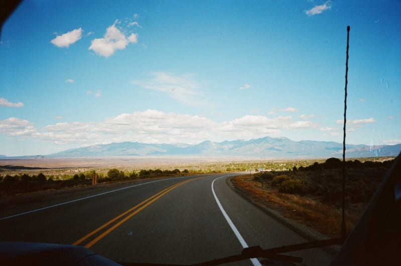 Drive to Taos New Mexico