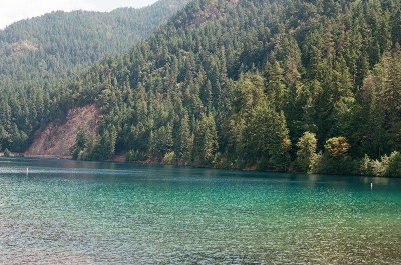 Lake Crescent, hiking trails