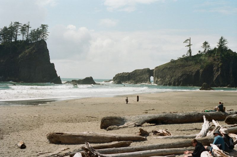 best beaches in the pacific northwest, camp on the beach