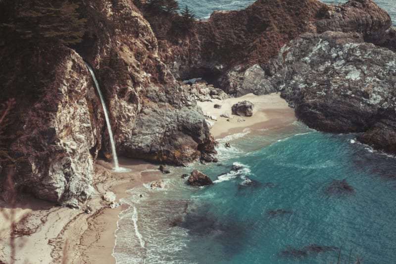 Best small towns on the west coast. Big Sur california