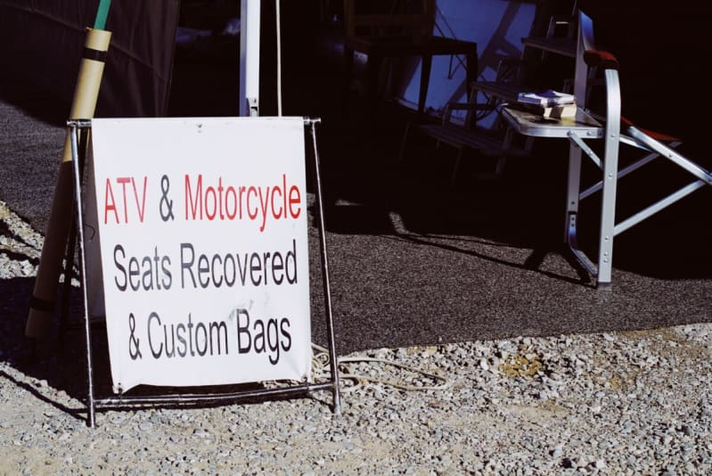 ATV & Motorcycle Seat Recovery Shop in Quartzsite, Arizona