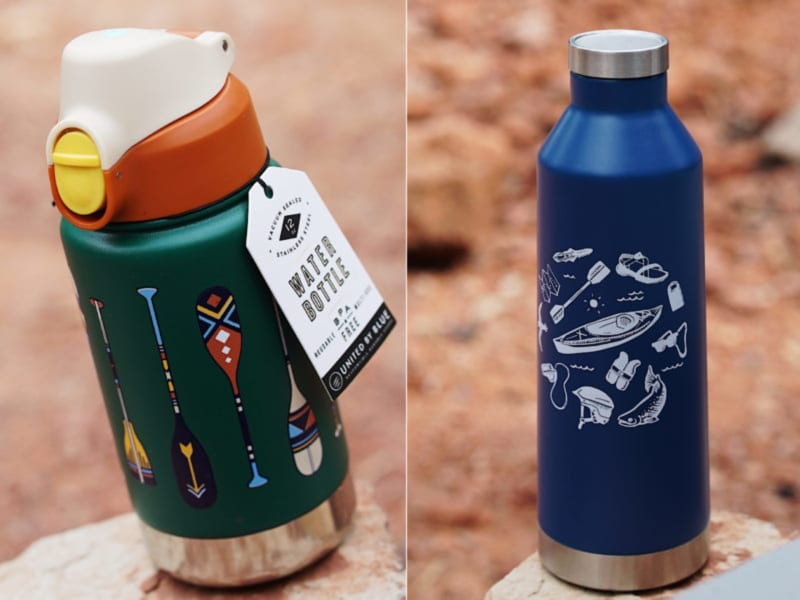 best RVing water bottles, camping canteens