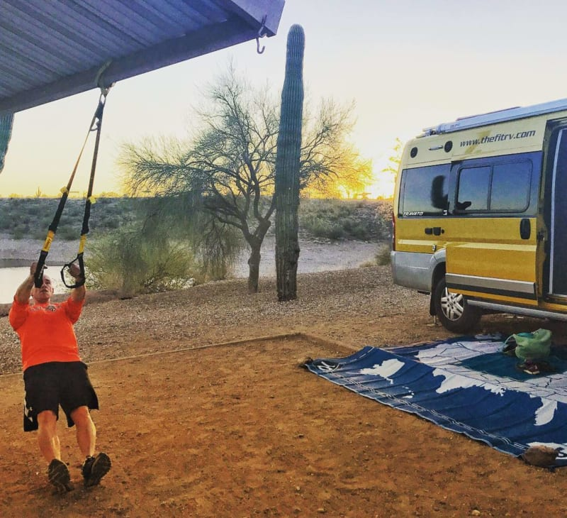 Best exercises when you live in an RV