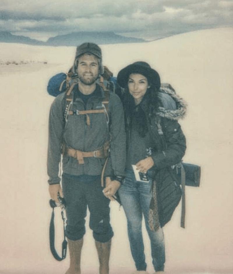 Kristen and Matt travel stud and studette