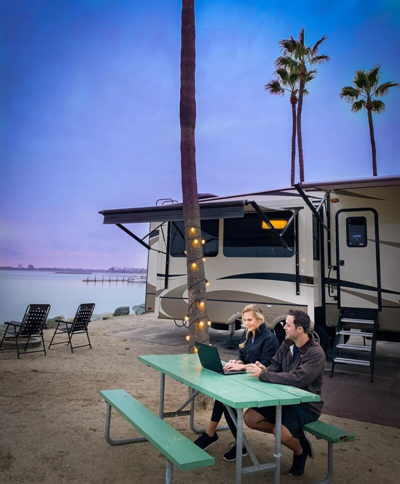 Boost RV internet connection